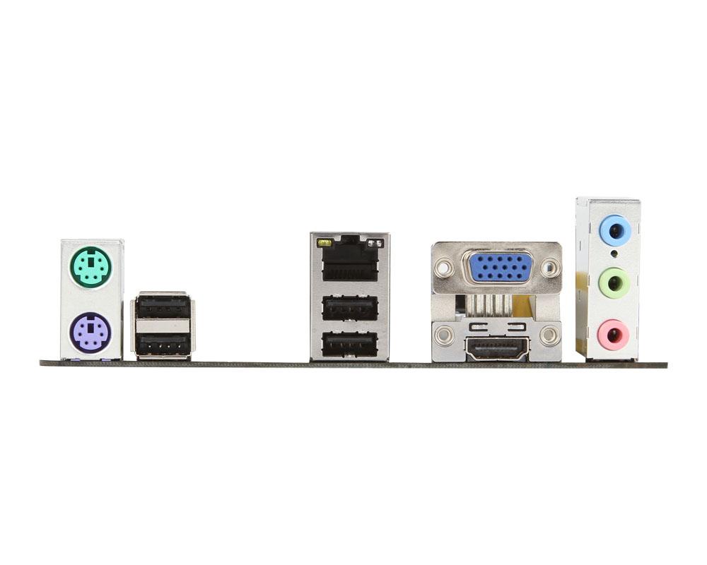 MSI H61I-E35 - I/O-Panel