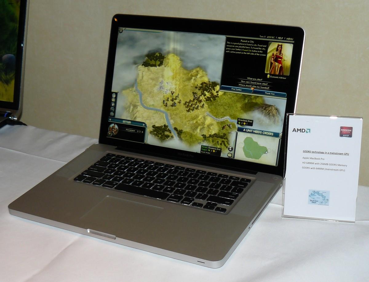 Radeon HD 6490M im Apple MacBook Pro