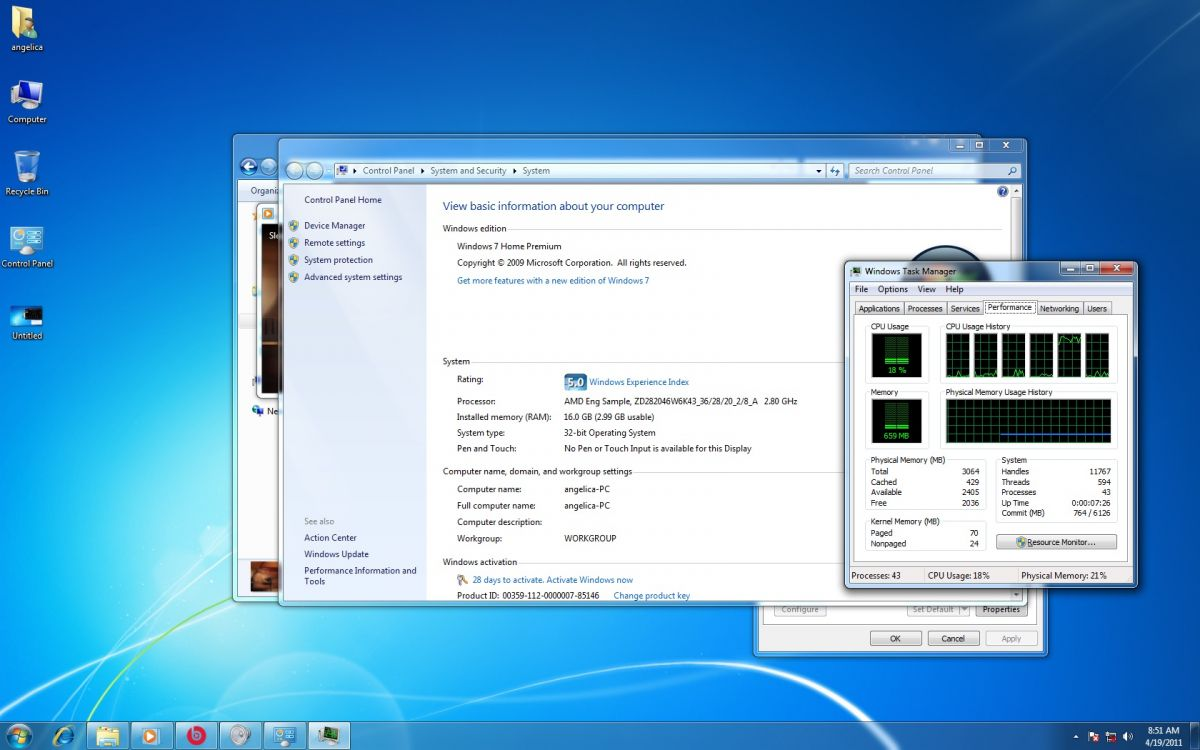 Win 7 - Task Manager