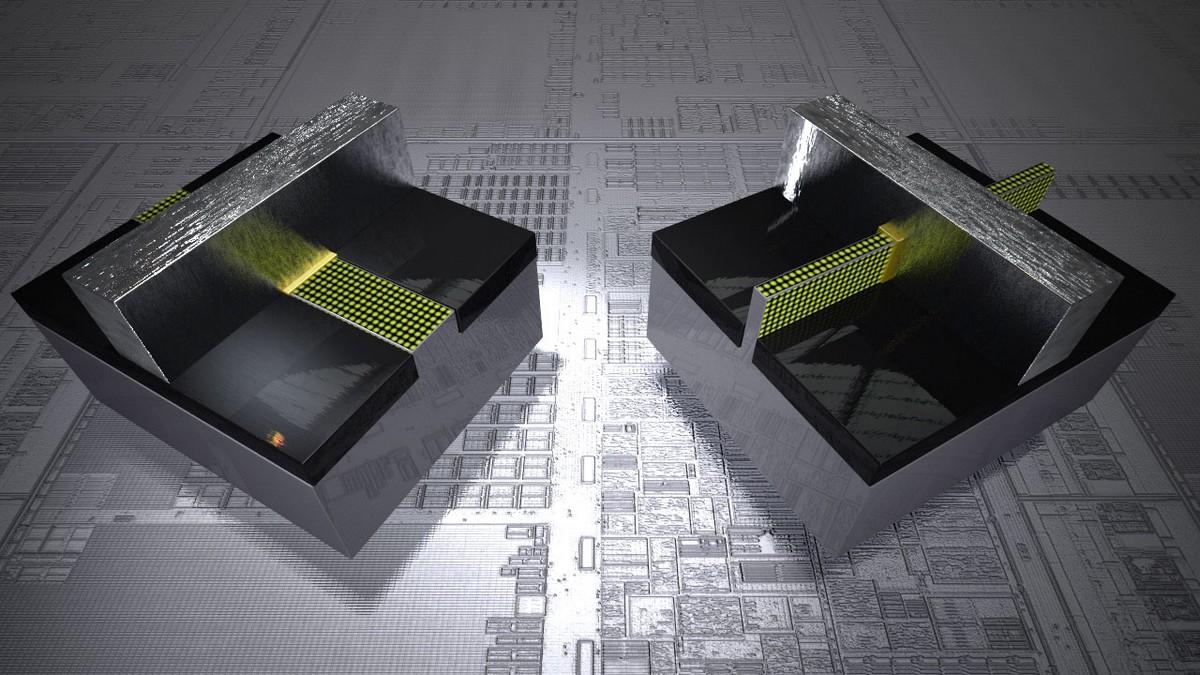 Planar und Tri-Gate Transistor im Vergleich