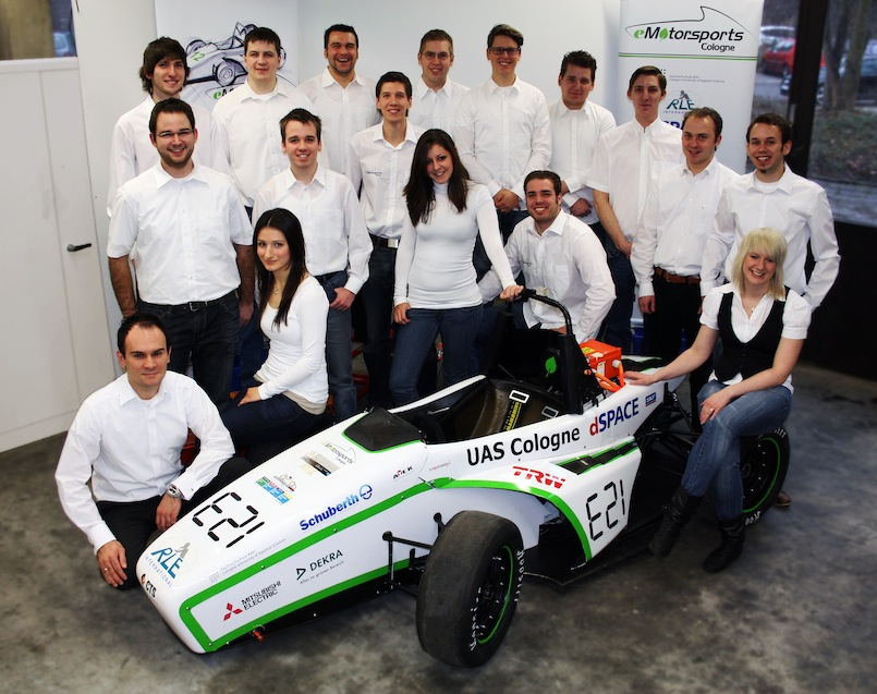 Das Team eMotorsports Cologne
