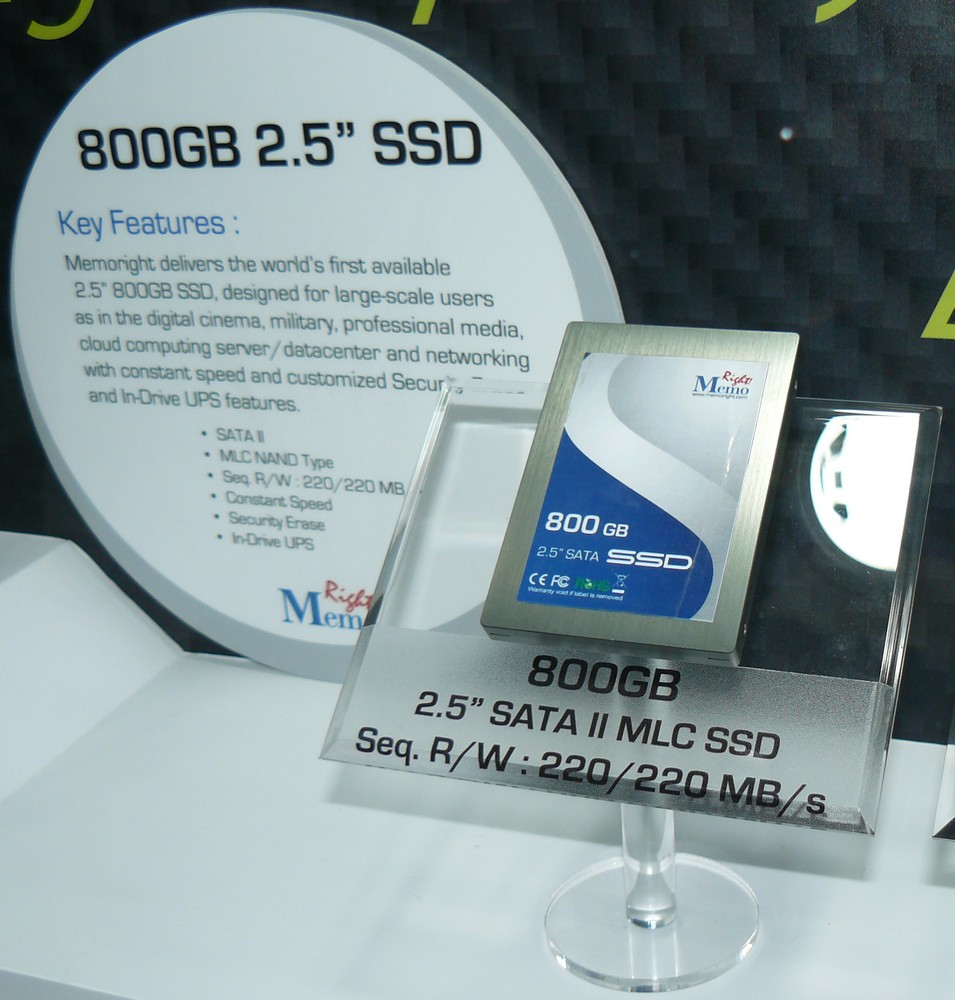 Memoright 800GB SSD