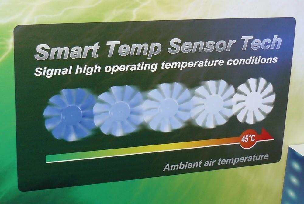 Smart Temp Sensor Tech