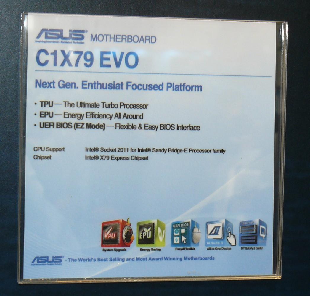 ASUS C1X79 EVO