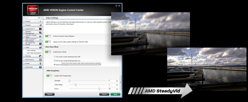 AMD Steady Video