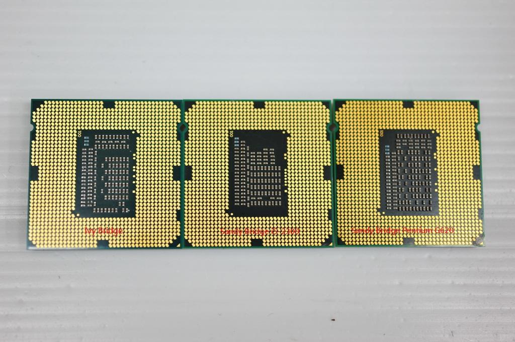 Ivy Bridge ES / SB i5-2400 / SB Pentium G620