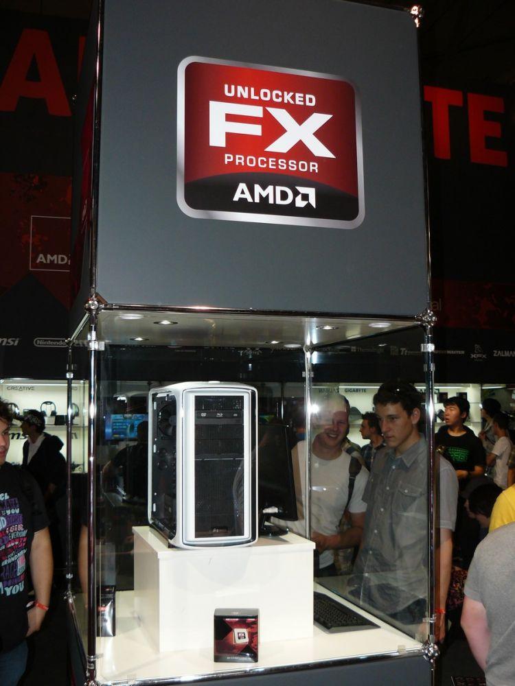 AMD FX-System auf der Gamescom