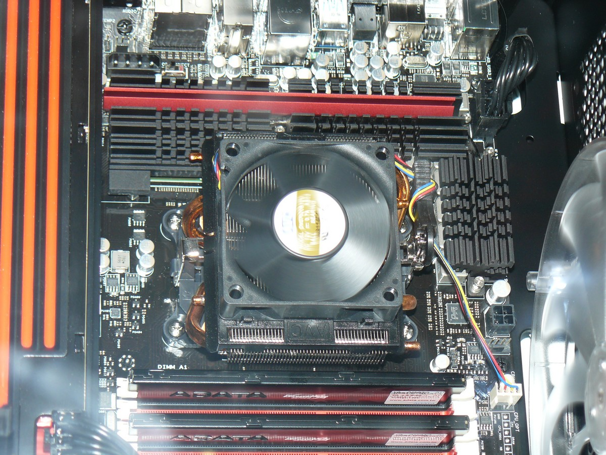 Kühler der AMD FX CPU