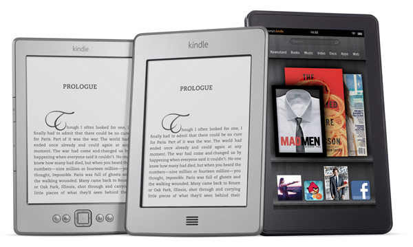 Amazon Kindle Familie