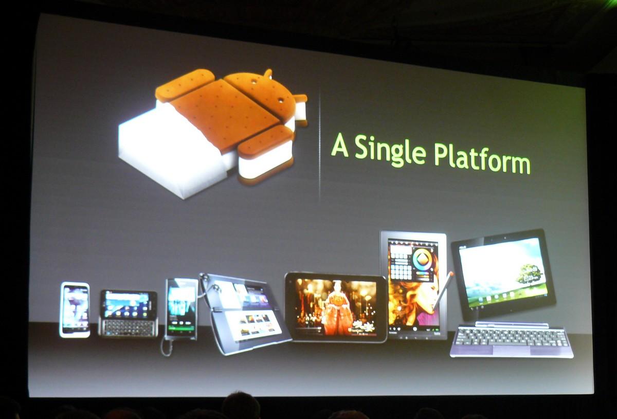 Android 4.0 (Ice Cream Sandwich) als gemeinsame Plattform für viele Geräte