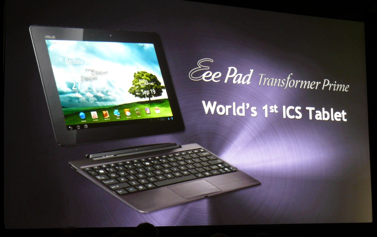 ASUS Transformer Prime mit Android 4.0
