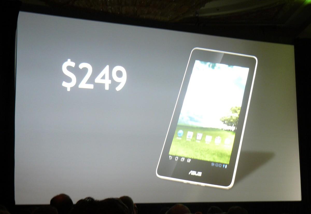 7''-Tablet von ASUS mit Tegra 3 für $249