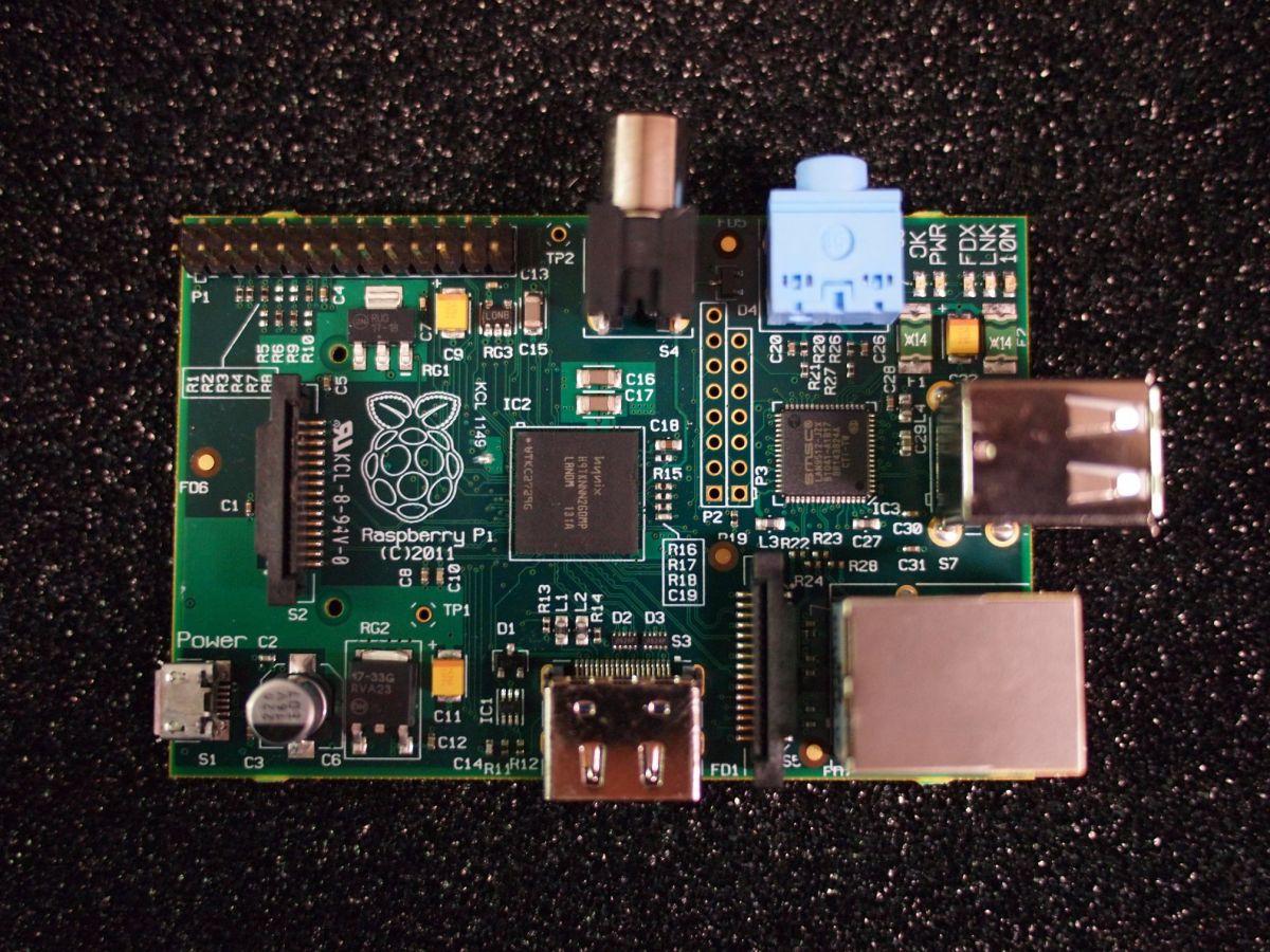 Raspberry Pi Beta-Board