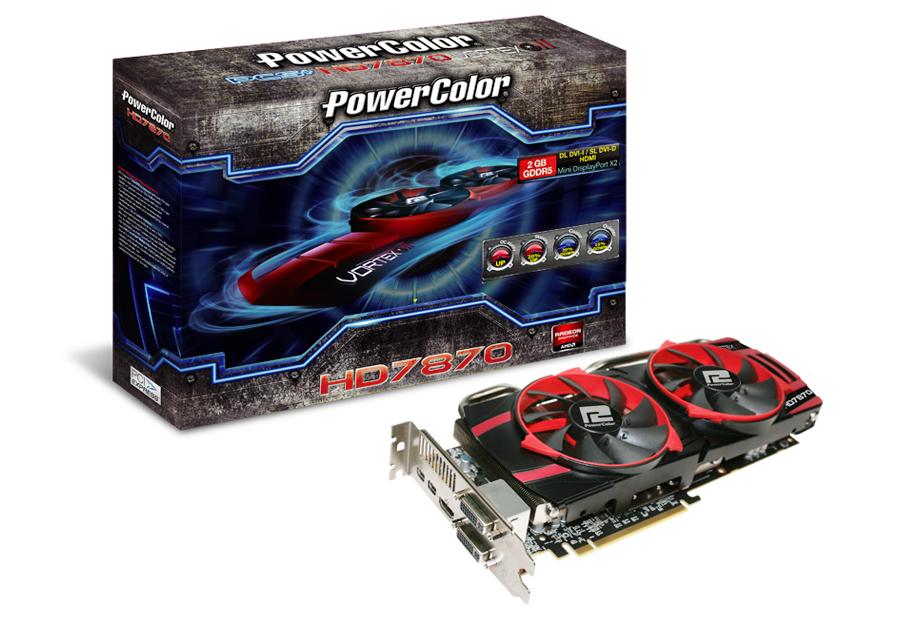 PowerColor PCS+ HD7870 Vortex II