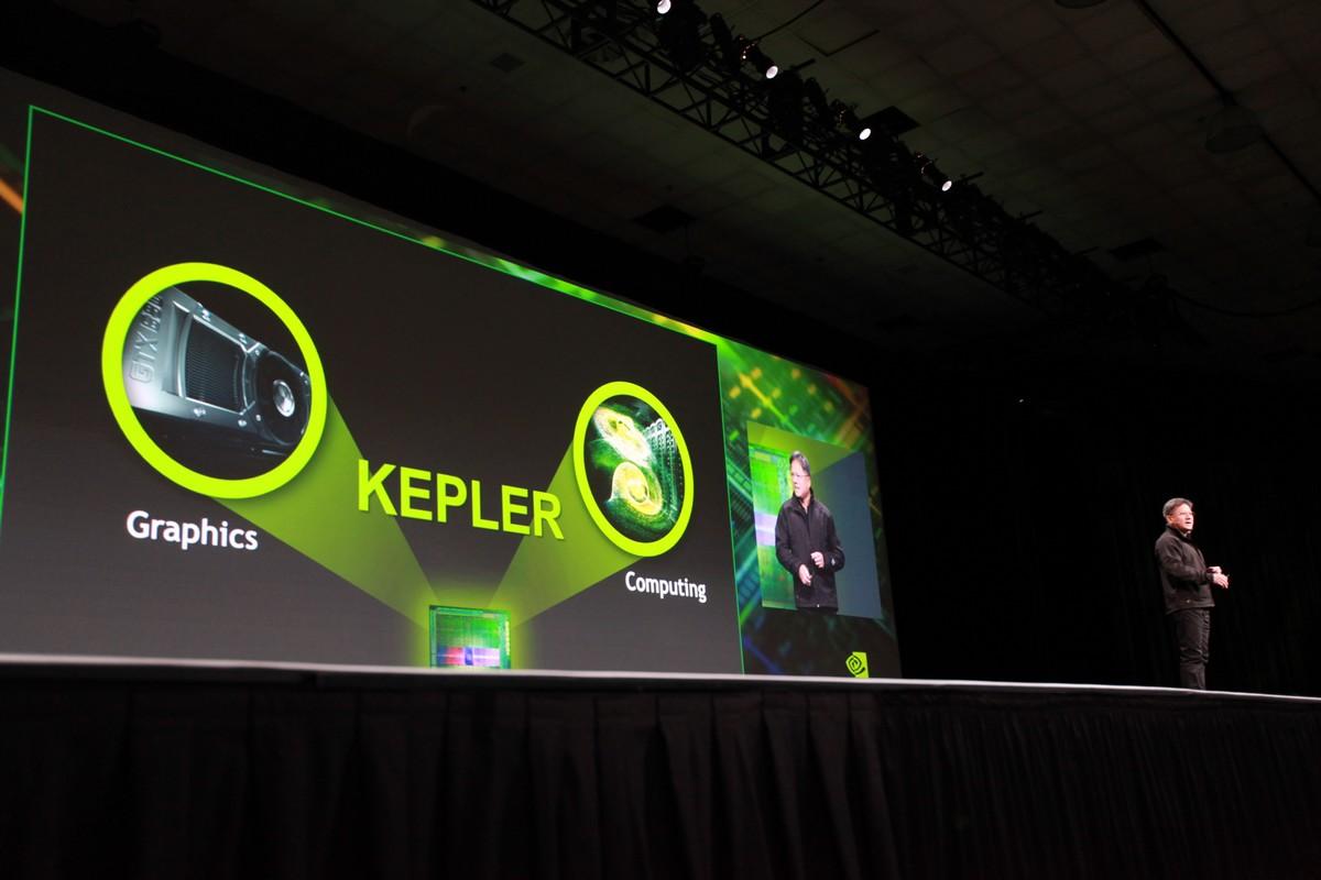 Nvidia-Chef Jen-Hsun Huang bei der Präsentation