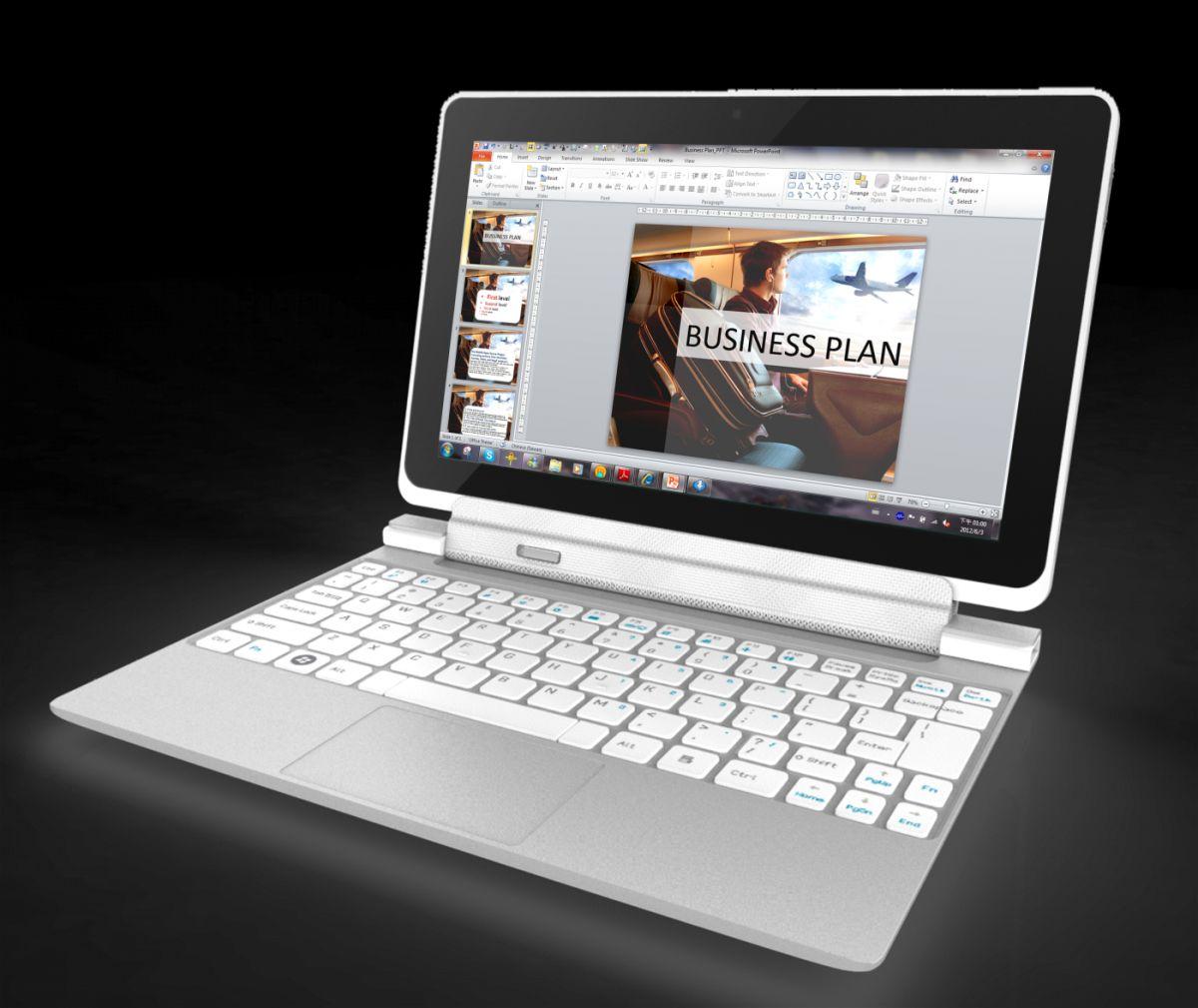 Acer Iconia W510 mit Tastatur-Dock