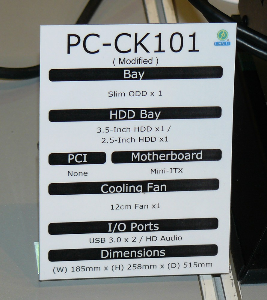 CK101 Daten