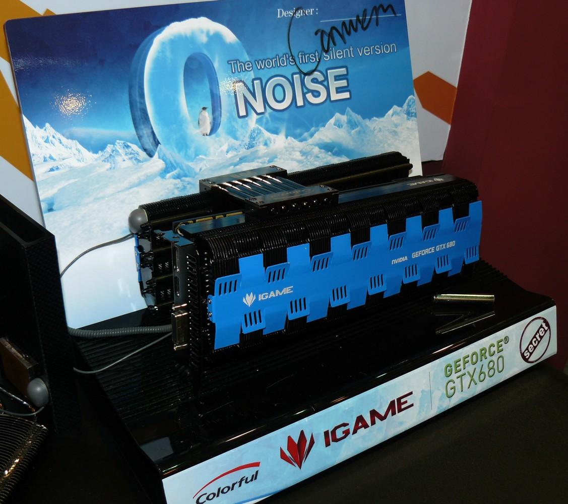 Passiv gekühlte GTX 680