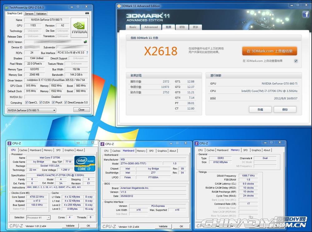 GeForce GTX 660 Ti - 3DMark 11 Extreme
