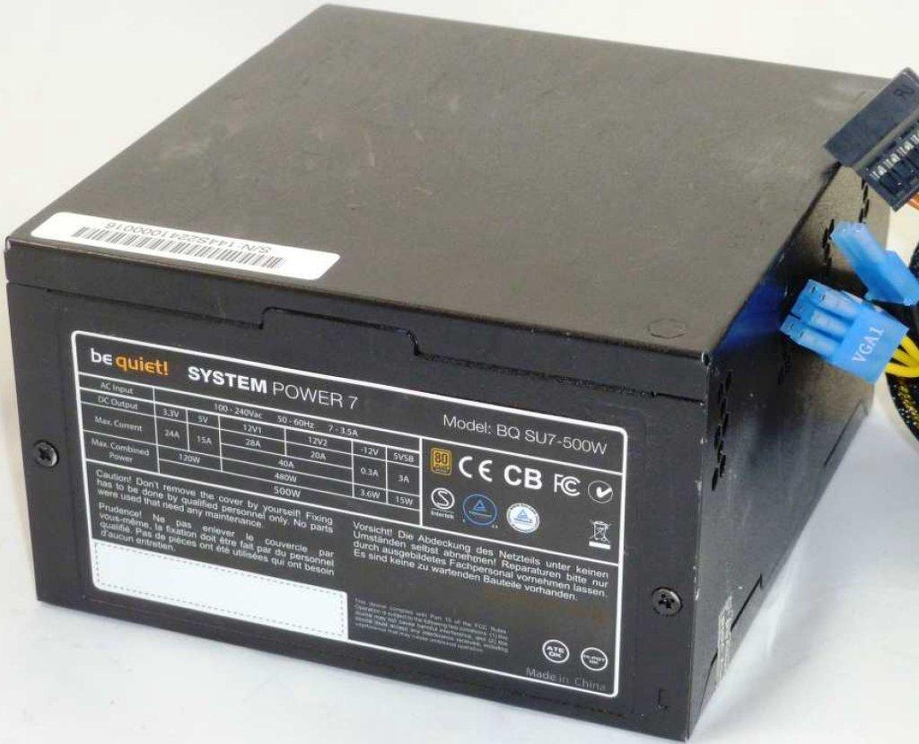 BQ System Power SU7-500W