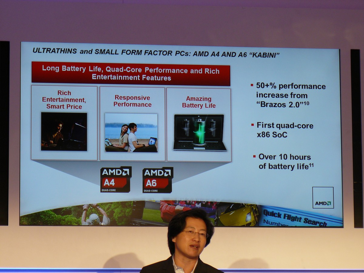 AMD A4 und A6 'Kabini'
