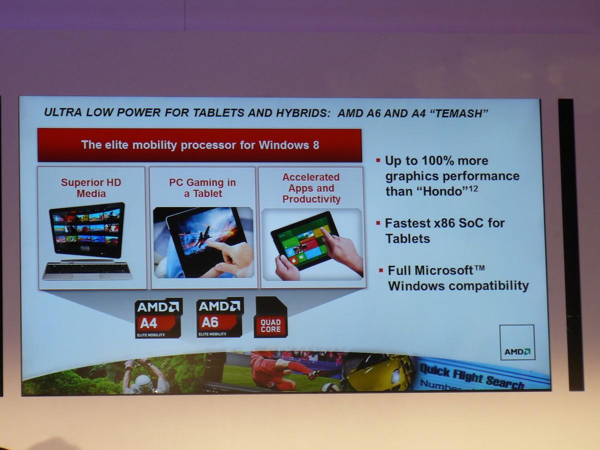 AMD A6 und A4 'Temash'
