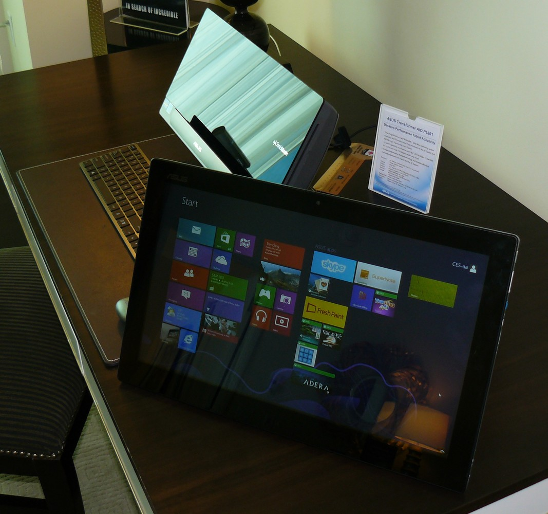 Display = Tablet (hier: Win8)