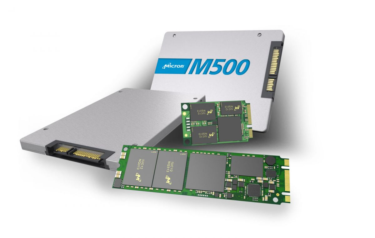 Micron M500 SSDs