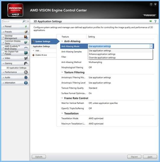 AMD Catalyst 13.1 CCC