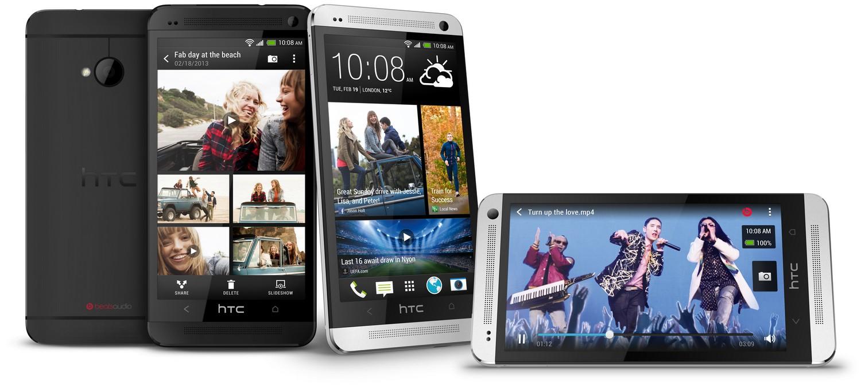 HTC One in Schwarz & Weiß