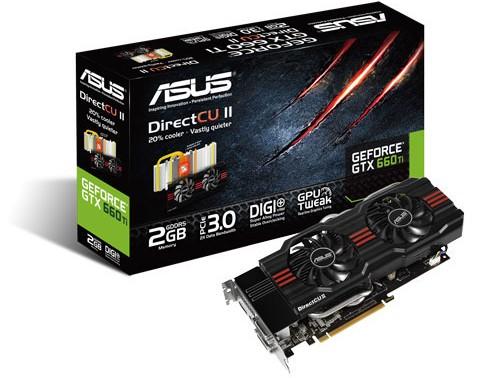 ASUS GeForce GTX 660 Ti DirectCU II