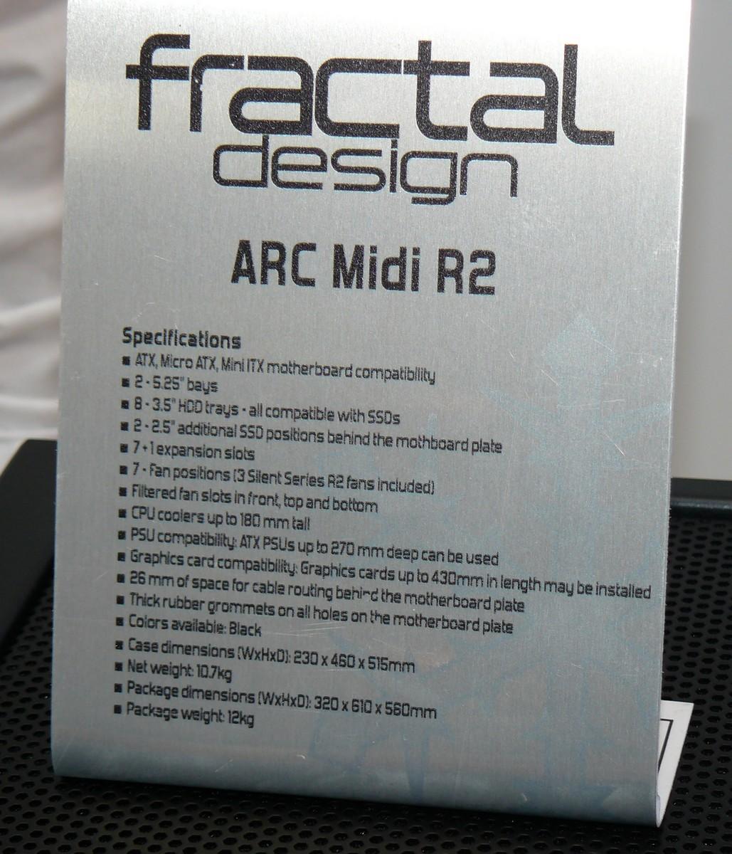 Arc Midi R2 Specs