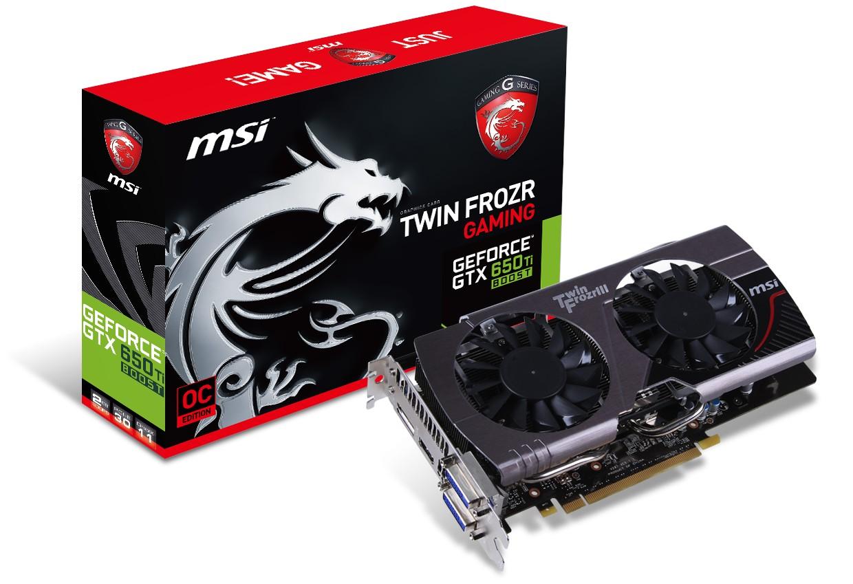 MSI GTX 650 Ti Boost