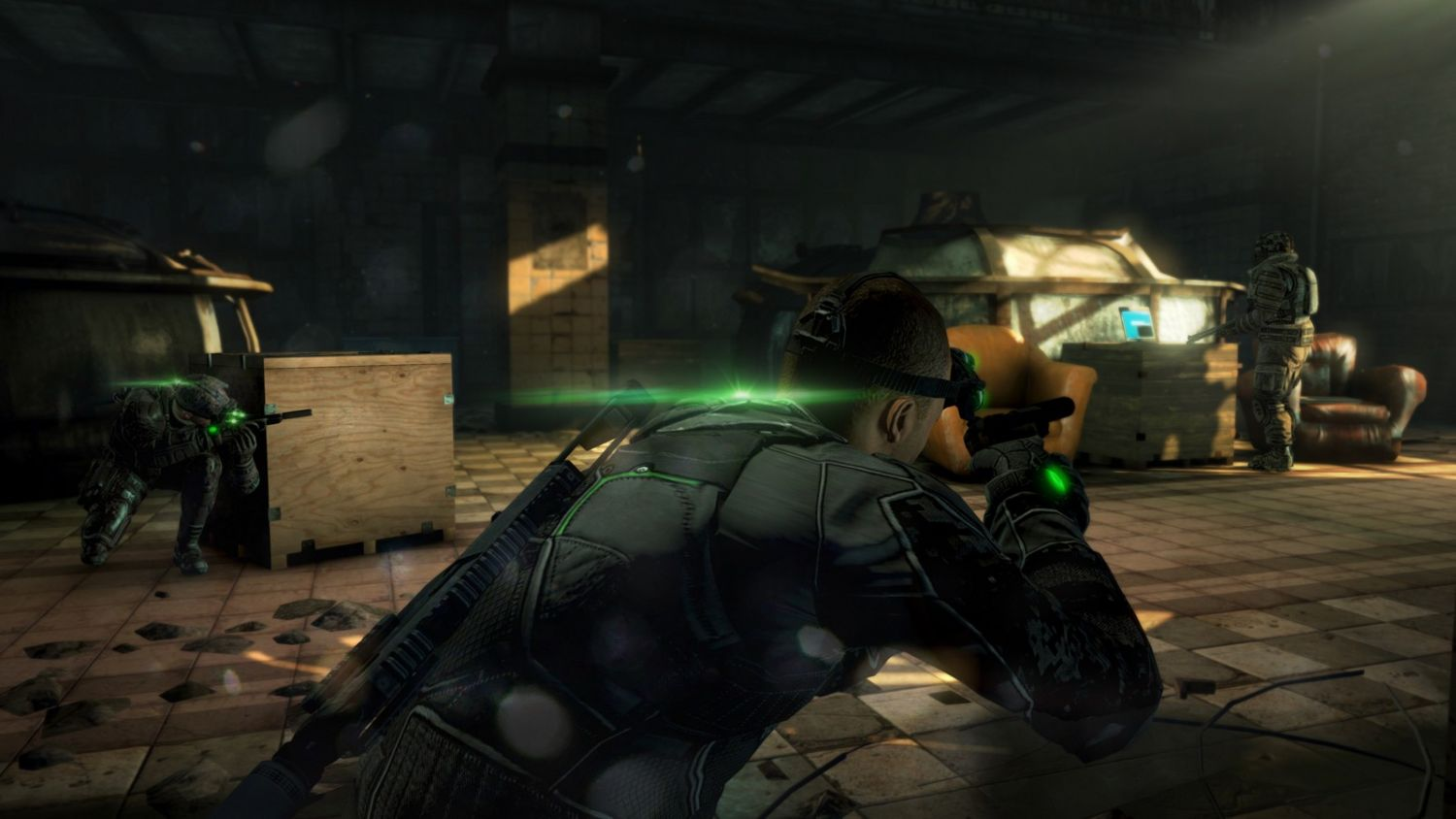 Screenshot: Splinter Cell Blacklist