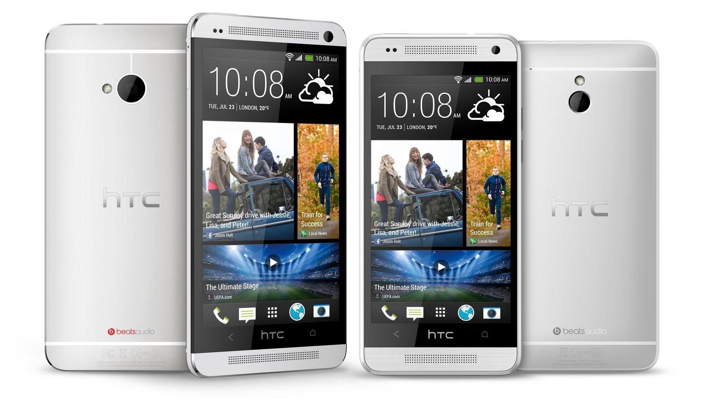 Vergleich von HTC One und HTC One mini