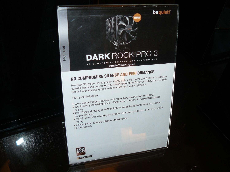 Dark Rock Pro 3 Specs