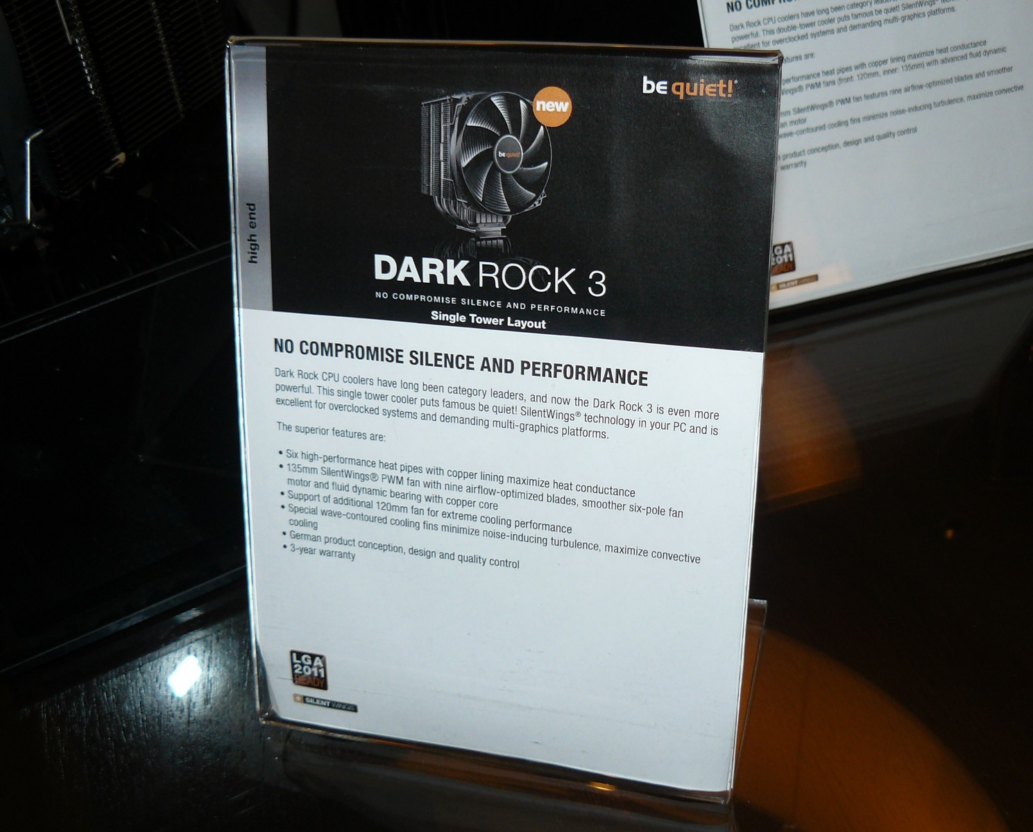 Dark Rock 3 Specs