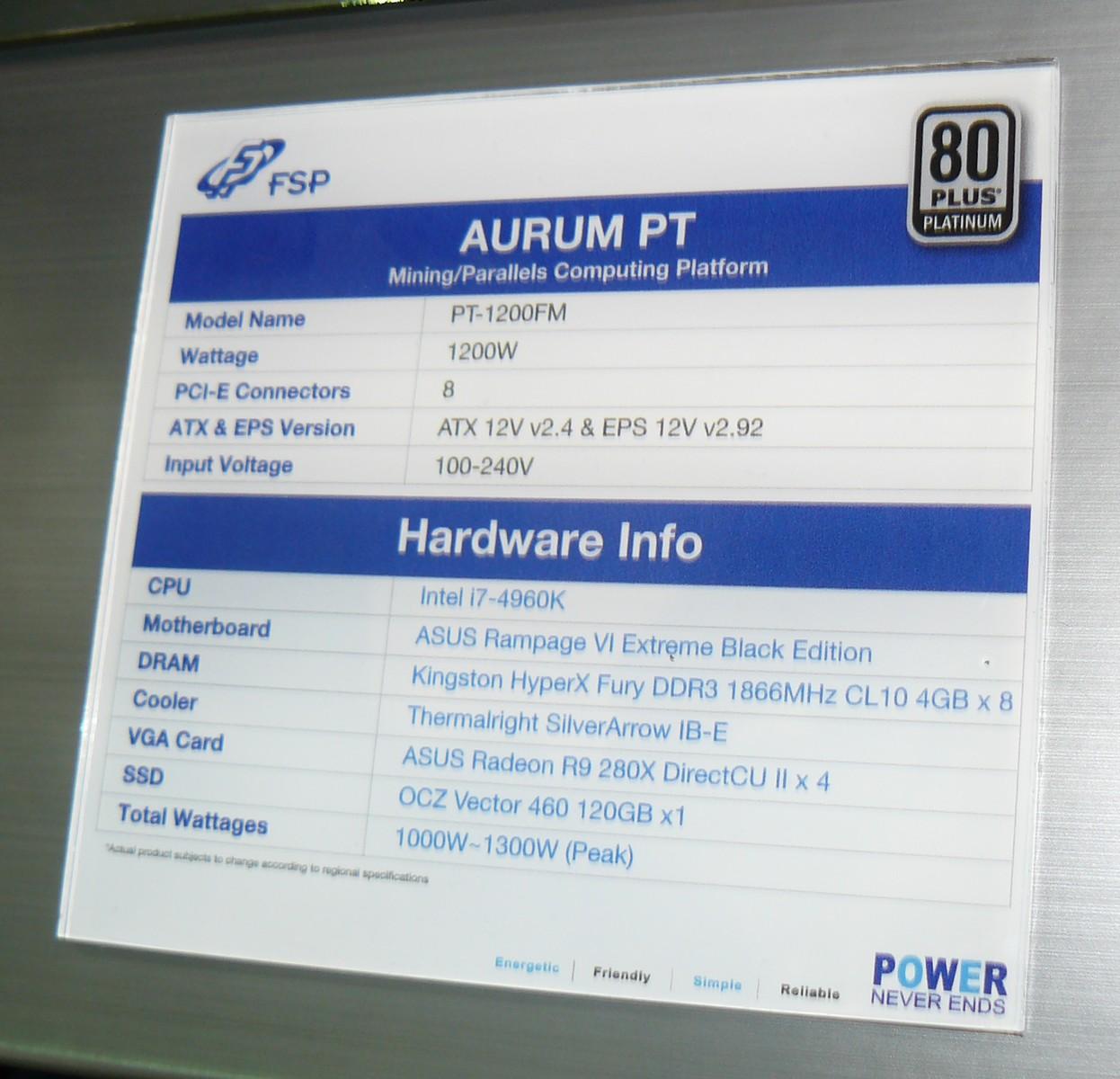 FSP Aurum PT