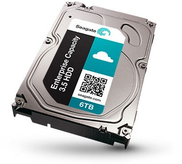 Seagate Enterprice Capacity 3.5 HDD mit 6 TByte