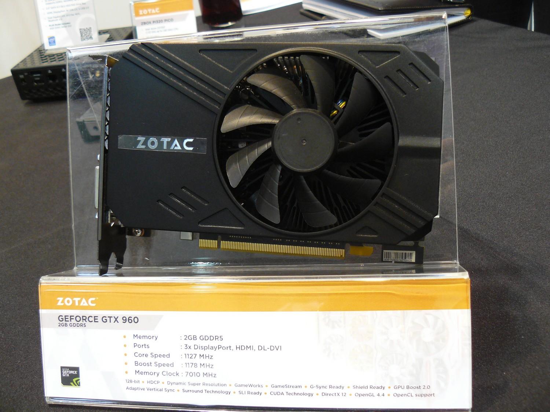 Zotac GTX 960 ITX