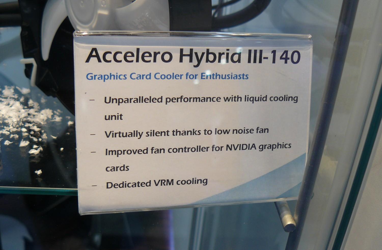 Accelero Hybrid III-140 Infos