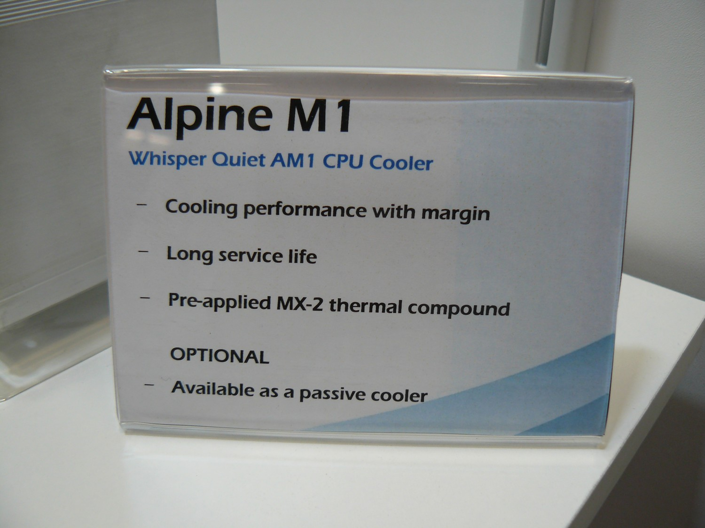 Alpine M1 Infos