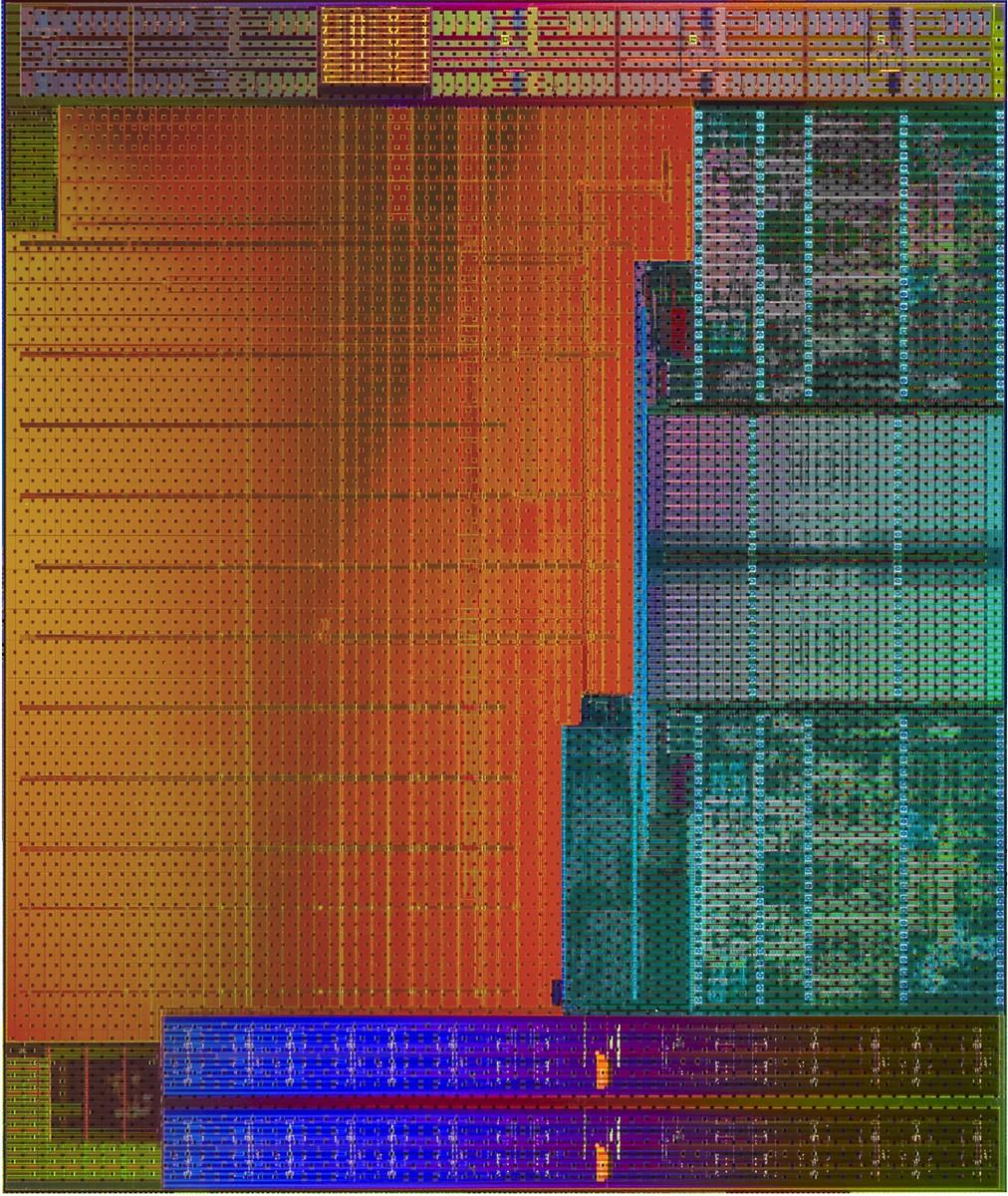 CPU DIE von Godavari