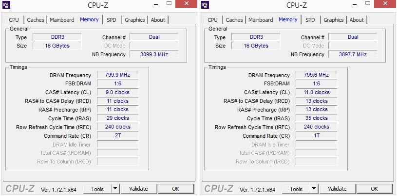 CPU-ID: Speicher