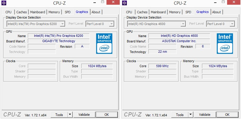CPU-ID: Grafik