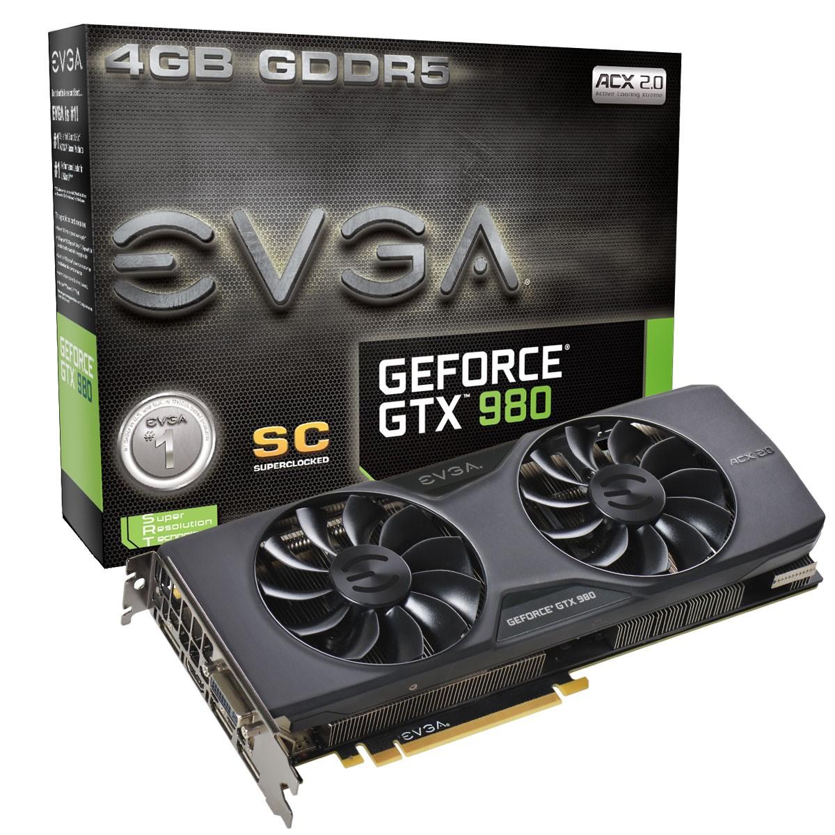 EVGA GTX 980 SC ACX 2.0
