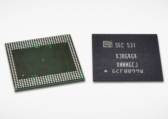 Samsung 12Gbit LPDDR4 DRAM