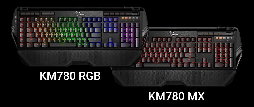 G.Skill KM780 RGB und KM780 MX