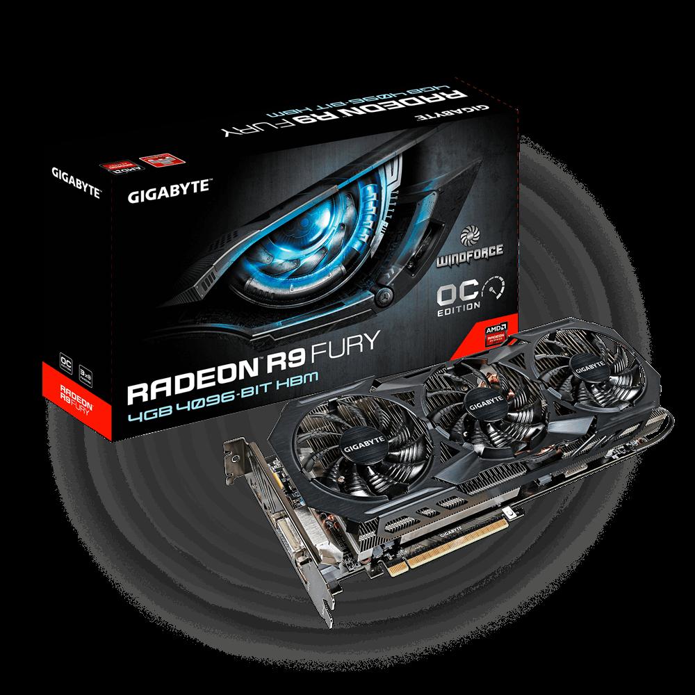 Gigabyte Radeon R9 Fury WindForce 3 OC