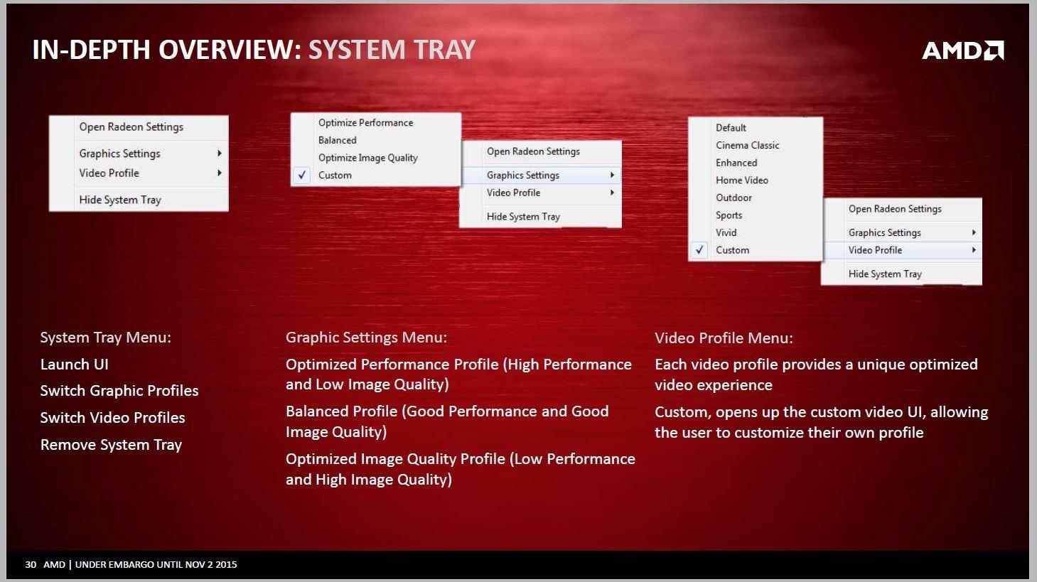 System Tray